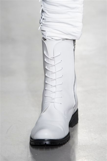 White, Boot, Grey, Fashion design, Leather, Sock, Silver, Knee-high boot, Synthetic rubber, Natural material,
