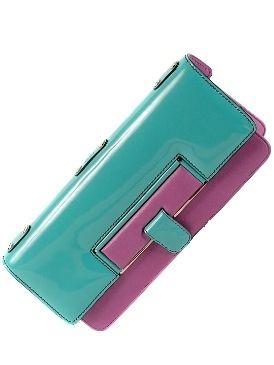 Magenta, Teal, Turquoise, Aqua, Purple, Rectangle, Electric blue, Azure, Wallet, Violet,