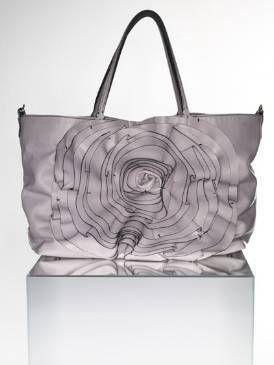 Bag, White, Style, Luggage and bags, Shoulder bag, Grey, Tote bag, Design, Black-and-white, Handbag,