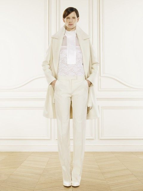 Clothing, Sleeve, Shoulder, Collar, Textile, Standing, White, Style, Blazer, Suit trousers,