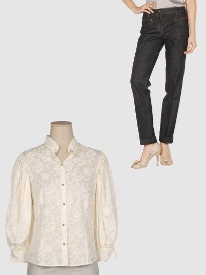 Clothing, Product, Brown, Collar, Sleeve, Shoulder, Textile, Standing, Dress shirt, Denim,