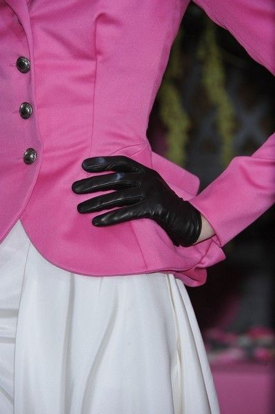 Safety glove, Textile, Glove, Magenta, Pink, Jacket, Purple, Nail, Formal gloves, Leather,