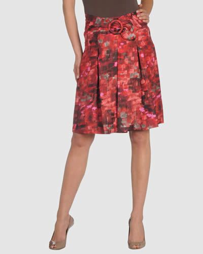 Clothing, Brown, Human leg, Shoulder, Textile, Red, Joint, Style, Pattern, Fashion,