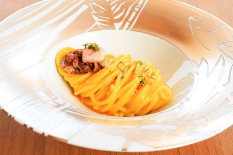 Food, Cuisine, Dishware, Serveware, Pasta, Tableware, Dish, Plate, Al dente, Recipe,