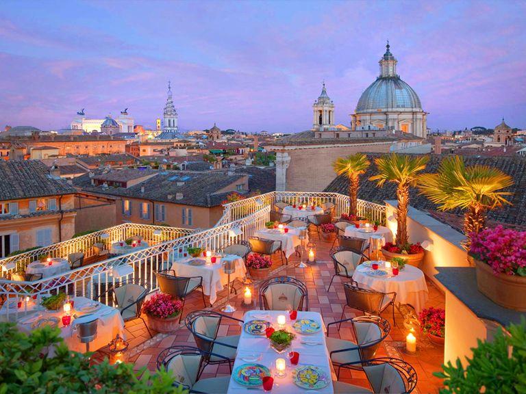 Ristoranti con giardino o terrazza a Roma