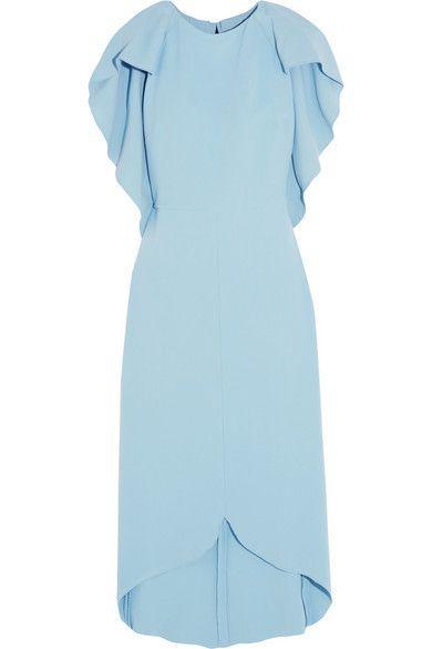 Blue, Sleeve, Textile, Dress, White, Formal wear, Pattern, Aqua, One-piece garment, Electric blue,
