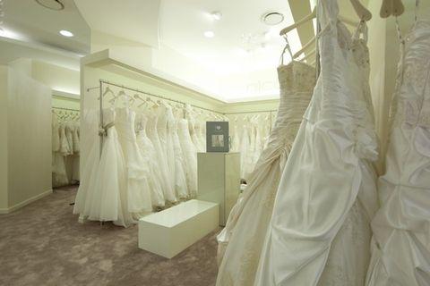 Floor, Interior design, Room, Textile, Flooring, Ceiling, Dress, Wedding dress, Gown, Bridal clothing,