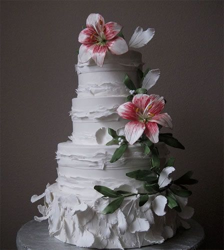 Torte Matrimonio Country Chic : Torte nuziali foto di wedding cake dal mondo