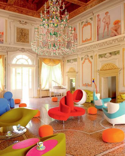 Interior design, Room, Ceiling, Light fixture, Interior design, Chandelier, Orange, Hall, Molding, Living room,