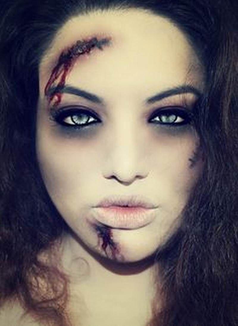 Trucco fai da te  40 idee per truccarsi la notte di Halloween 65f1a583c65e