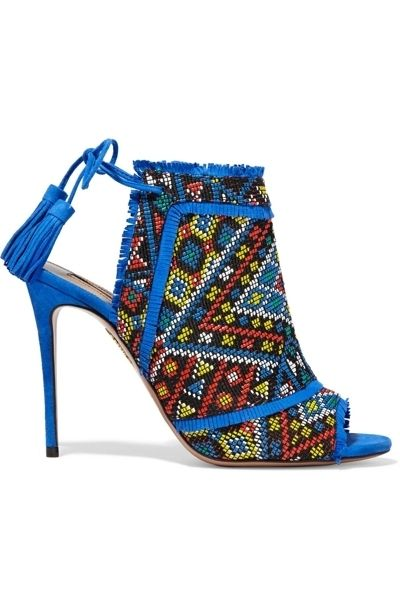 Blue, High heels, Sandal, Electric blue, Basic pump, Foot, Teal, Beige, Aqua, Boot,