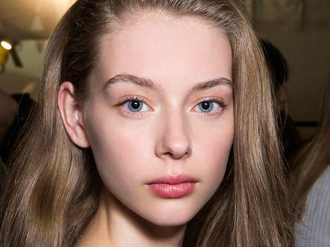 Nose, Mouth, Lip, Cheek, Brown, Hairstyle, Eye, Skin, Chin, Forehead,
