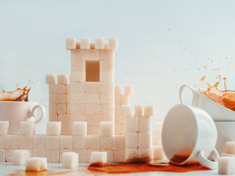 Serveware, Dishware, Toy block, Tableware, Drinkware, Cup, Peach, Still life photography, Teacup, Coffee cup,
