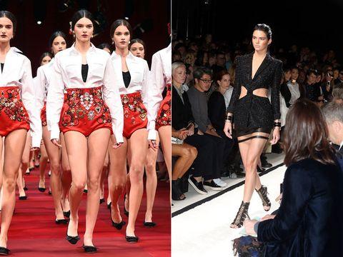 Clothing, Footwear, Leg, Human leg, Outerwear, Fashion show, Style, Fashion model, Thigh, Runway,
