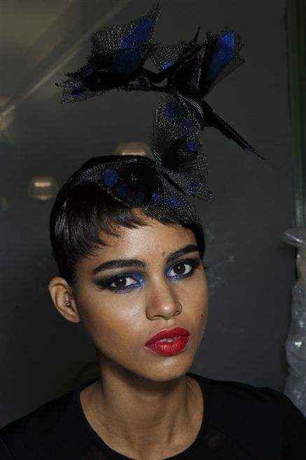 Nose, Lip, Mouth, Eyebrow, Eyelash, Hair accessory, Headgear, Headpiece, Costume accessory, Fashion,