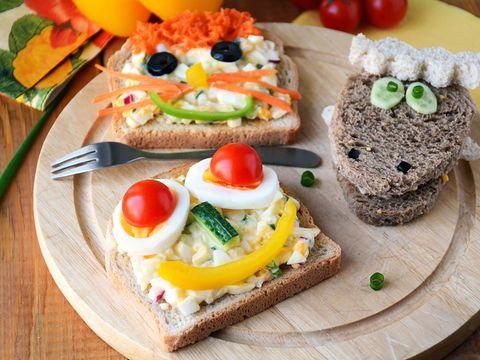 Food, Finger food, Cuisine, Ingredient, Meal, Vegetable, Tableware, Baked goods, Produce, Breakfast,