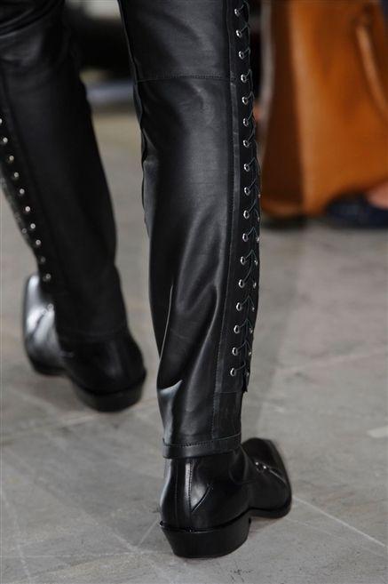 Footwear, Textile, Shoe, Leather, Fashion, Black, Boot, Dress shoe, Knee-high boot, Fashion design,