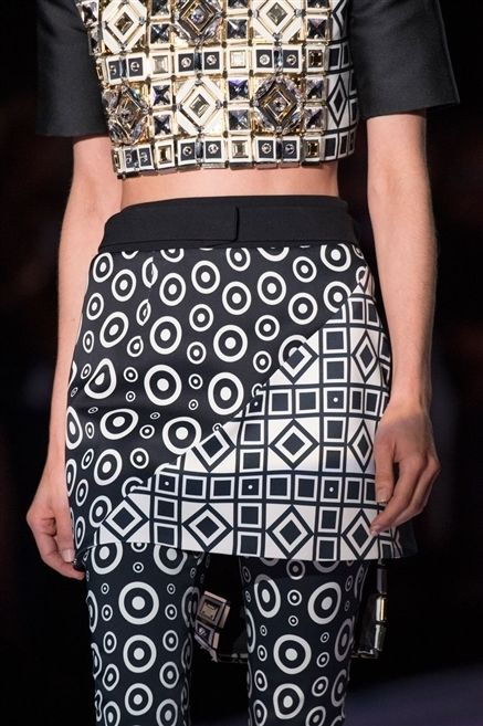 Clothing, Pattern, Textile, Joint, Style, Waist, Fashion, Black, Street fashion, Design,