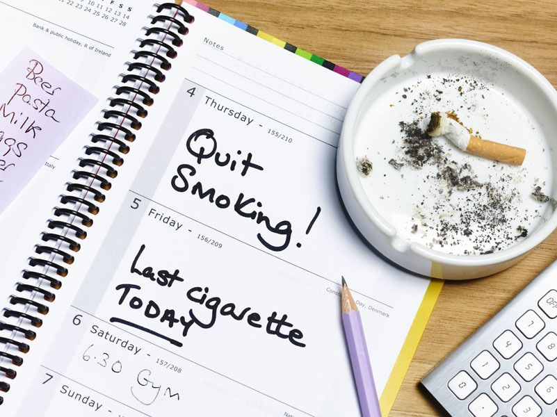 fatti di fumo e aumento di peso