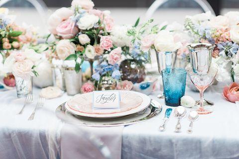 Tema Matrimonio Rosa Quarzo : 25 allestimenti per la tavola del matrimonio