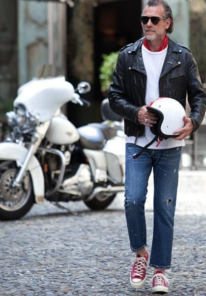 Clothing, Motorcycle, Trousers, Jacket, Jeans, Textile, Sunglasses, Outerwear, Automotive tire, Denim,