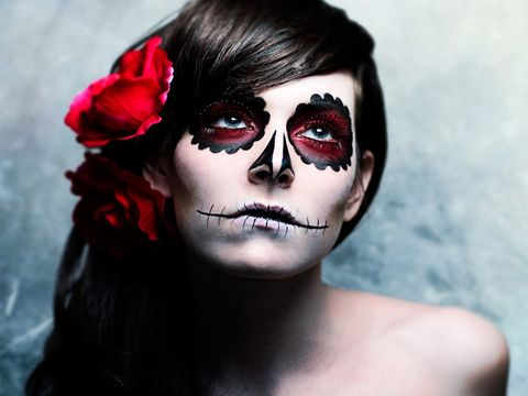 Trucco fai da te  40 idee per truccarsi la notte di Halloween 5739ee6a920c