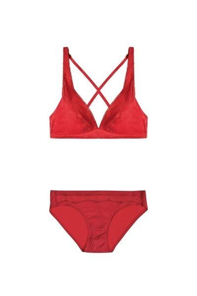 Red, Pattern, Undergarment, Carmine, Maroon, Lingerie, Briefs, Lingerie top, Underpants, Brassiere,