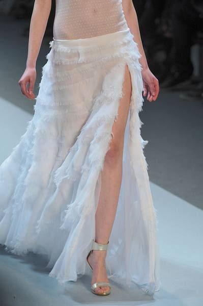 Clothing, Shoulder, Shoe, Textile, Joint, White, Wedding dress, Bridal clothing, Gown, Fashion,