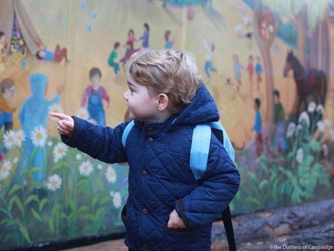 Human, Blue, Jacket, Child, Winter, Toddler, Electric blue, Hood, Play, Windbreaker,