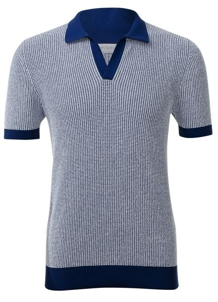Blue, Product, Collar, Sleeve, Textile, Pattern, White, Line, Electric blue, Dress shirt,