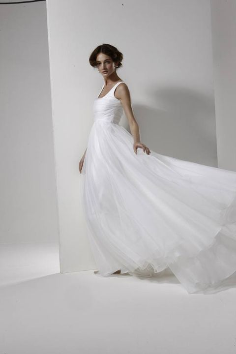 Shoulder, Textile, Dress, Photograph, Joint, Bridal clothing, Formal wear, Style, Gown, Wedding dress,