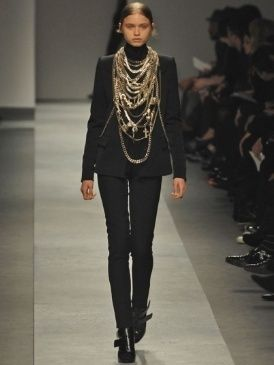 Product, Brown, Joint, Outerwear, Fashion show, Jewellery, Style, Fashion model, Runway, Fashion,