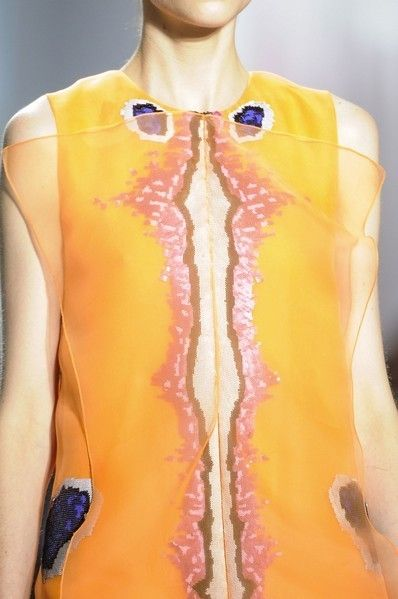 Yellow, Shoulder, Joint, Amber, Orange, Neck, Mannequin, Muscle, Trunk, Chest,