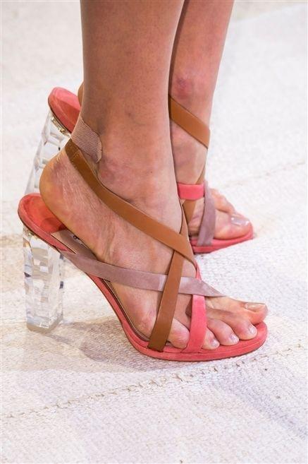 Footwear, High heels, Skin, Human leg, Toe, Sandal, Shoe, Joint, Red, Pink,