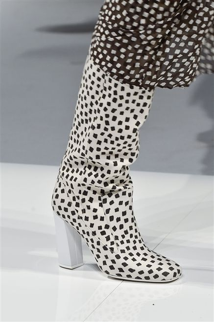 Human leg, Style, Pattern, Black-and-white, Design, Tights, Ankle, Court shoe, Polka dot, Dancing shoe,