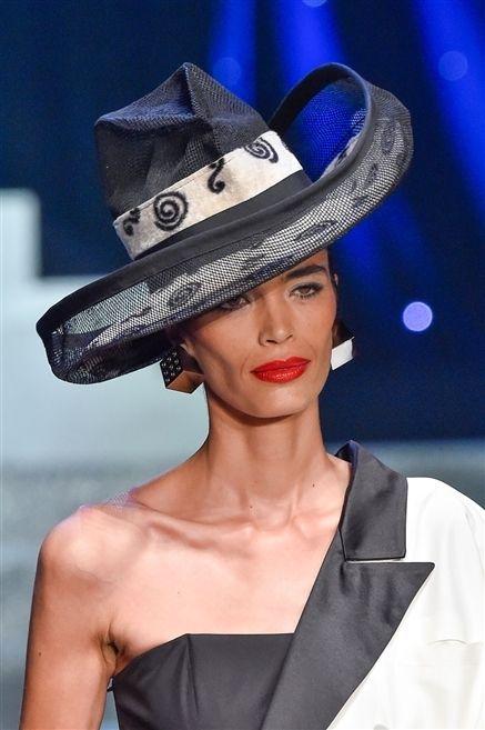 Clothing, Hat, Lip, Fashion accessory, Style, Fashion model, Headgear, Costume accessory, Fashion, Sun hat,