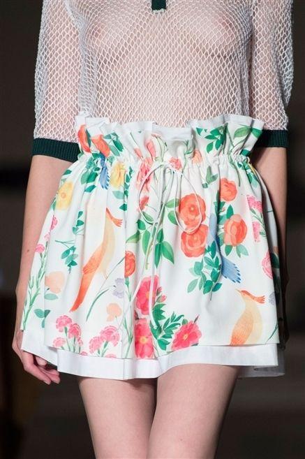 Clothing, Green, Pattern, Textile, Style, Orange, Fashion, Day dress, Peach, Design,