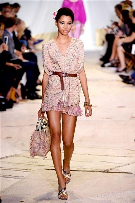 Clothing, Footwear, Human, Leg, Fashion show, Shoulder, Human leg, Pink, Fashion accessory, Style,