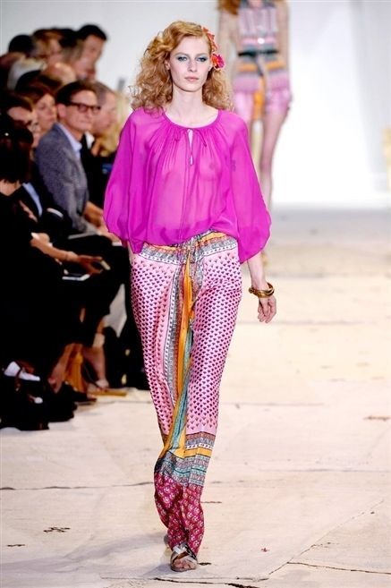 Clothing, Fashion show, Joint, Outerwear, Runway, Magenta, Pink, Style, Fashion model, Street fashion,