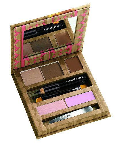 Brown, Pink, Purple, Lavender, Magenta, Violet, Eye shadow, Cosmetics, Tints and shades, Box,