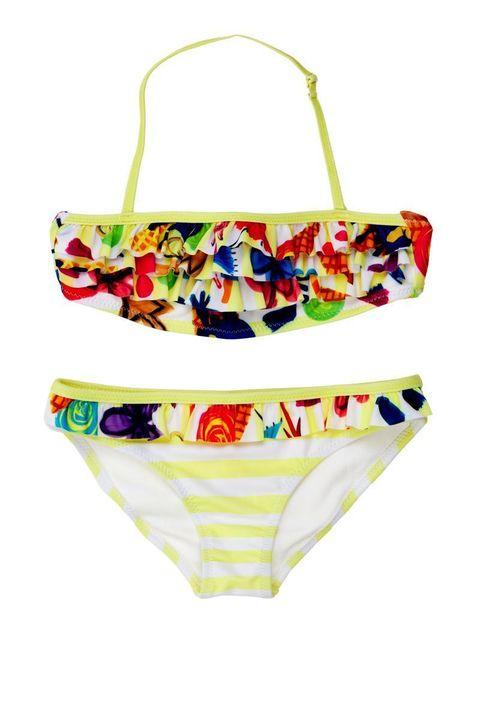 c01ee2343084 Bikini bimba con volant, 45,95 euro Desigual Kids