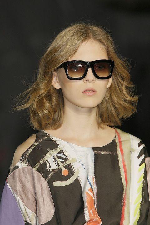 Clothing, Eyewear, Glasses, Vision care, Lip, Hairstyle, Sunglasses, Style, Street fashion, Fashion,