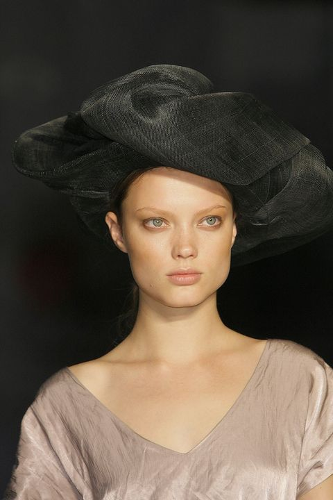 Clothing, Lip, Chin, Jaw, Headgear, Costume accessory, Fashion accessory, Fashion, Neck, Costume hat,