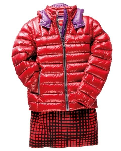 Clothing, Jacket, Product, Collar, Sleeve, Red, Textile, Outerwear, Plaid, Pattern,