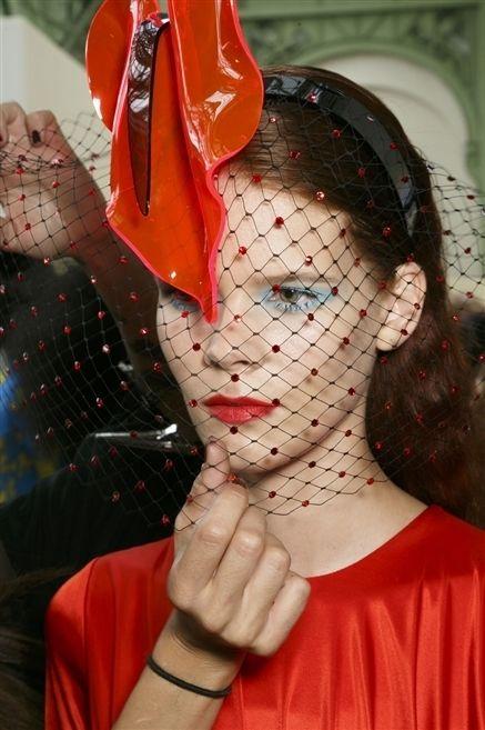 Headgear, Carmine, Makeover, Tradition, Bracelet, Flesh,