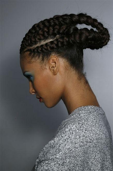Ear, Hairstyle, Forehead, Eyebrow, Cornrows, Style, Braid, Organ, Fashion, Beauty,