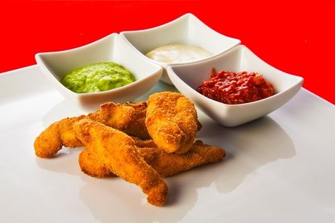 Food, Cuisine, Finger food, Ingredient, Deep frying, Bowl, Dish, Fried food, Sauces, Condiment,