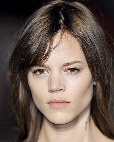 Hair, Nose, Lip, Cheek, Mouth, Hairstyle, Skin, Chin, Forehead, Shoulder,
