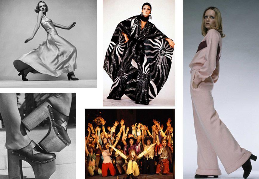 Abiti Eleganti Stile Anni 70.Moda Anni 70 Dai Figli Dei Fiori Allo Stile Da Discoteca