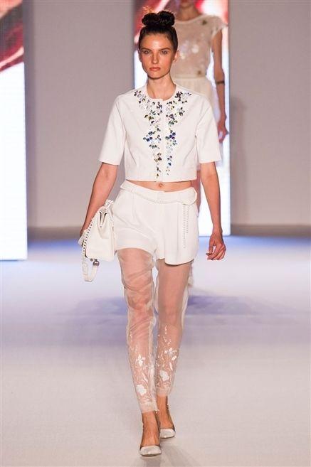 Clothing, Fashion show, Skin, Human body, Shoulder, Human leg, Textile, Runway, Joint, Waist,